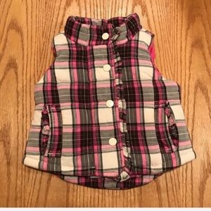 Baby gap vest for girls size 12-18 mo, used